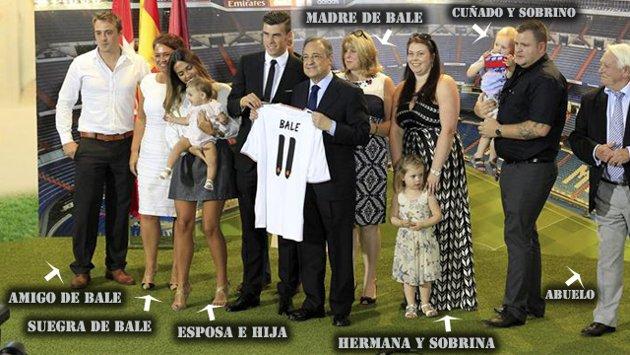 Familia-Bale-presentacion-jugador-real-madrid