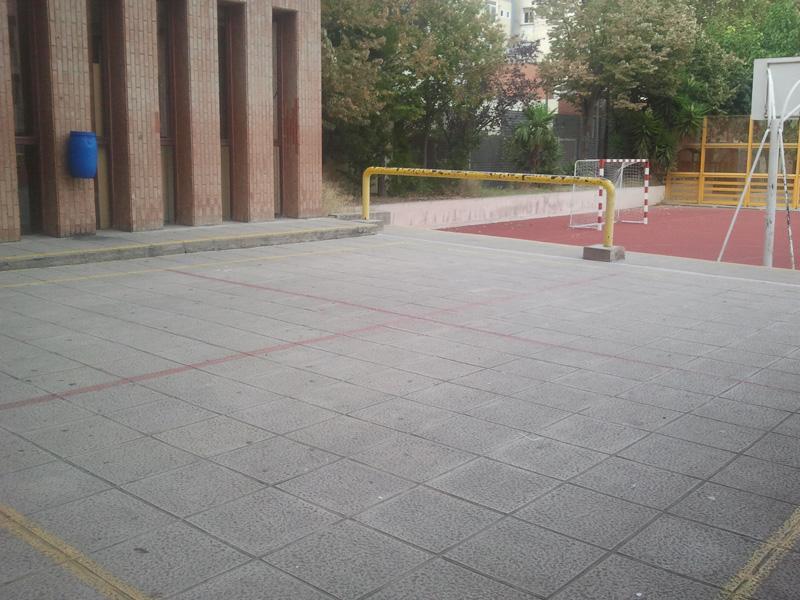 pati-Ernest-lluch-pista-voleibol